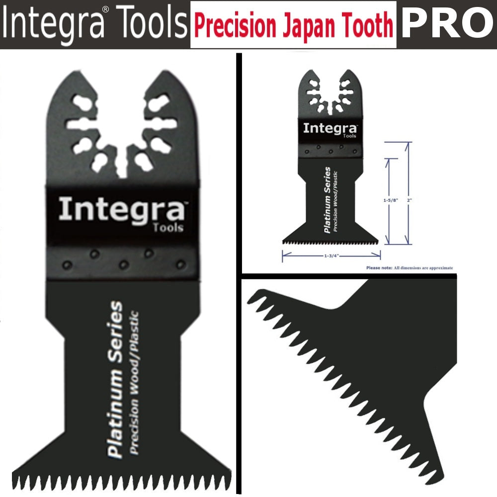 INTEGRA 42 Pc Oscillating Multi Tool Saw Blade For Fein Multimaster BOSCH Dremel