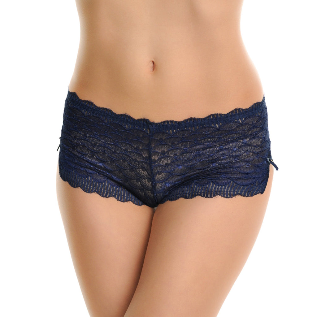 Angelina Lace Cheeky Boxer Briefs (6-Pack)