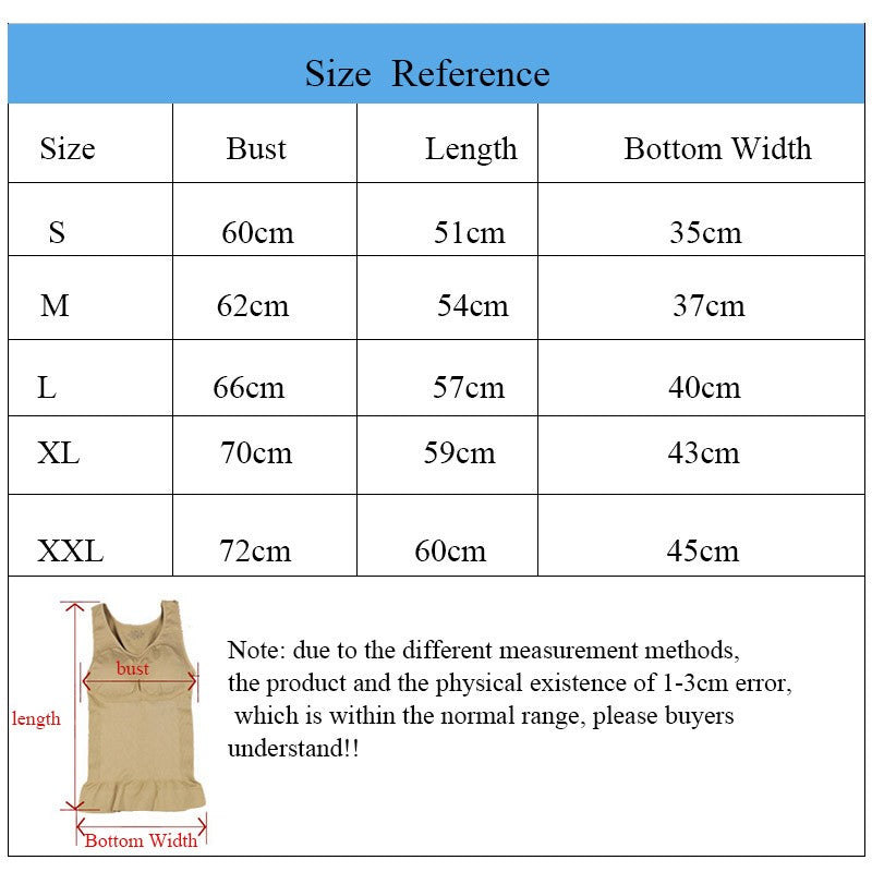Hot Shaper Slim Up Lift Plus Size Bra Cami Tank Top Women Body Removable Underwear Slimming Vest Corset Shapewear