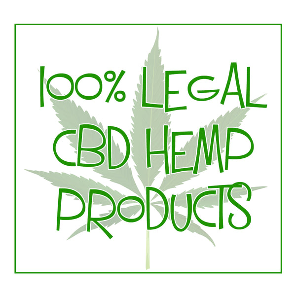 CBD Products 100% Legal