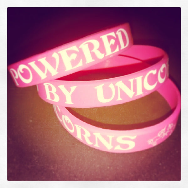 Powered By Unicorns | Wristband