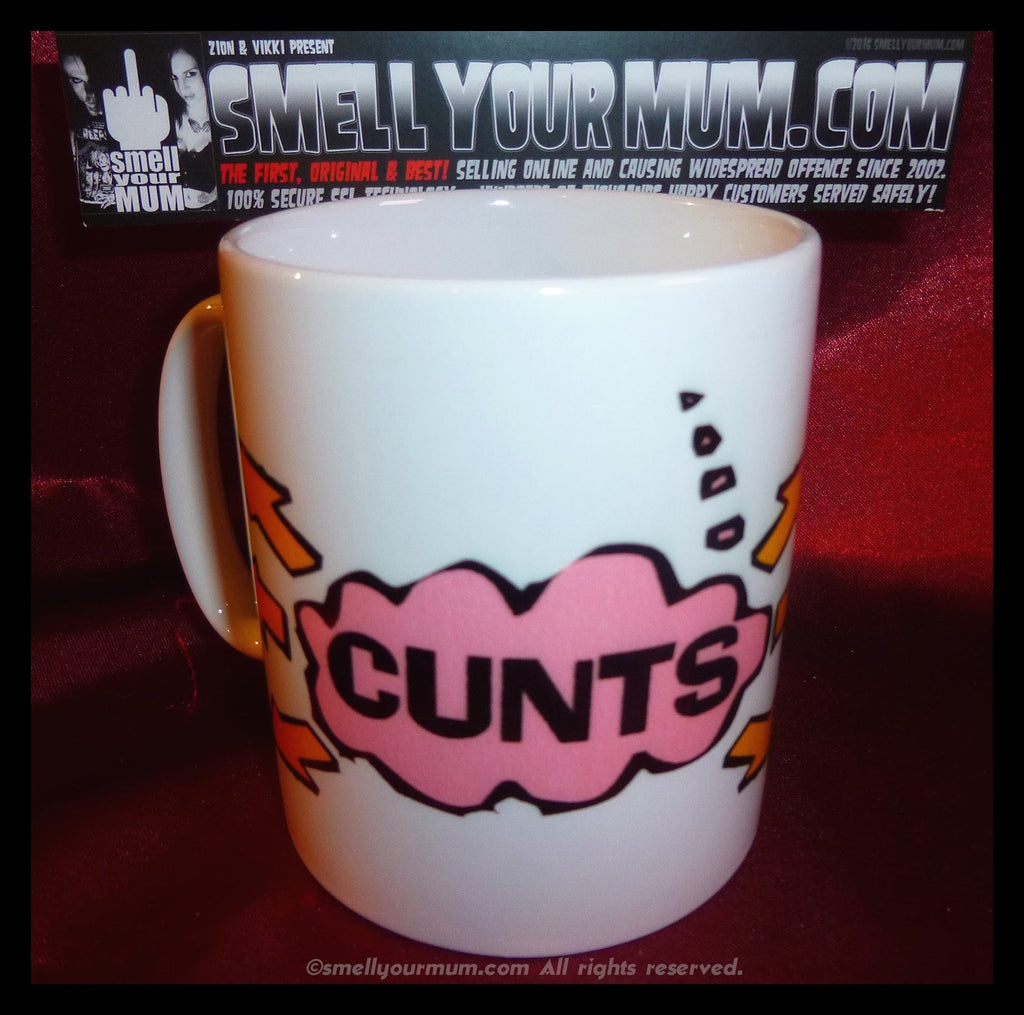 CUNTS [with arrows pointing everywhere] | MUG