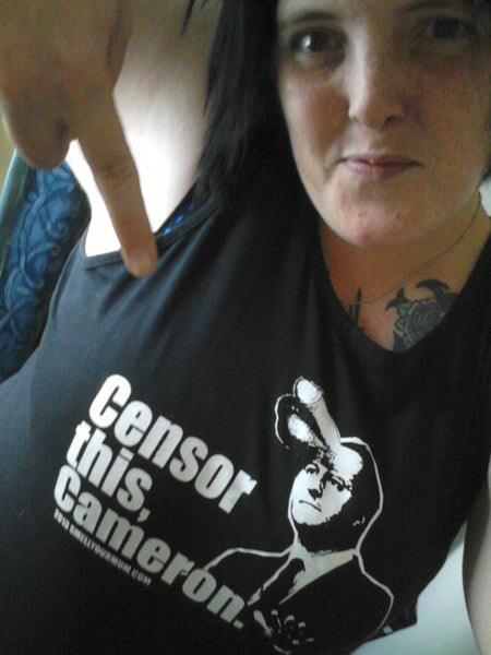 Censor This, Cameron.  | T-Shirt, Vest, Hoody
