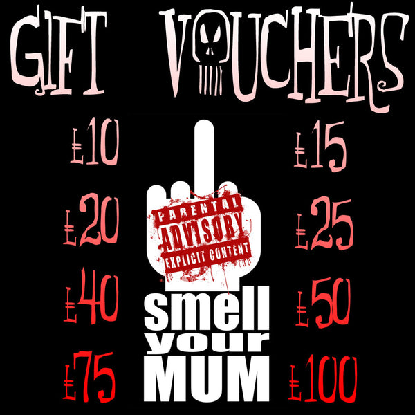 Gift Vouchers (£10 / £15 / £20 / £25 / £40 / £50 / £100) No Expiry Date!