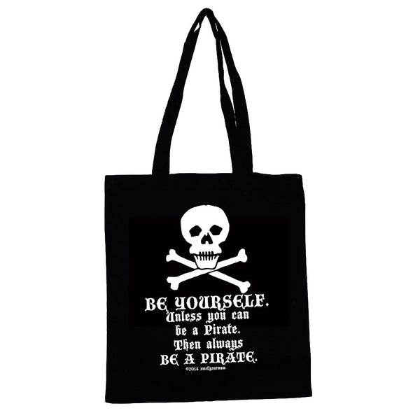 Be Yourself Unless You Can Be A Pirate Then Always Be A Pirate | TOTE SHOPPING BAG