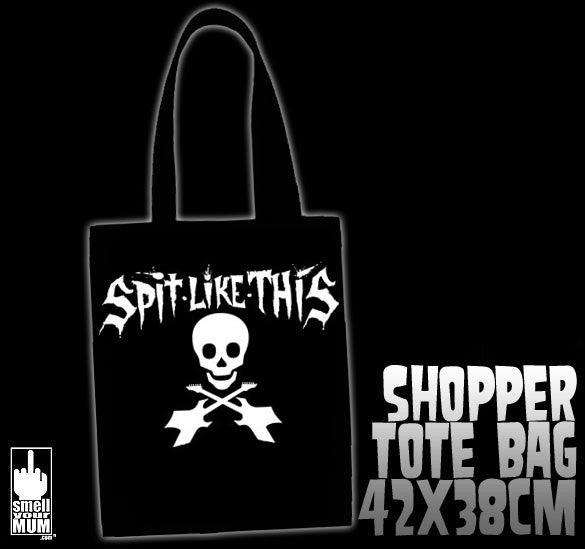 SPiT LiKE THiS Skullox 2012 | TOTE SHOPPING BAG