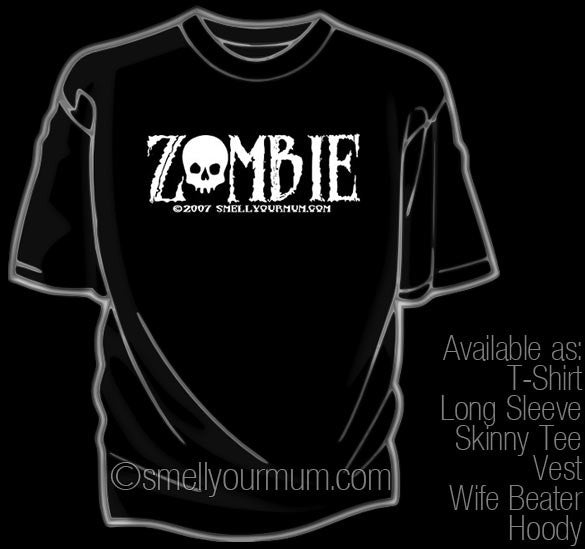 ZOMBIE (Walking Dead) | T-Shirt, Vest, Hoody