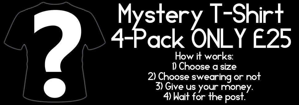 Mystery T-Shirt 4-Pack