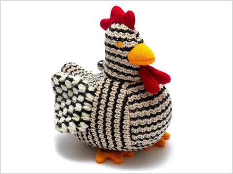 Chirpy chunky knit chicken