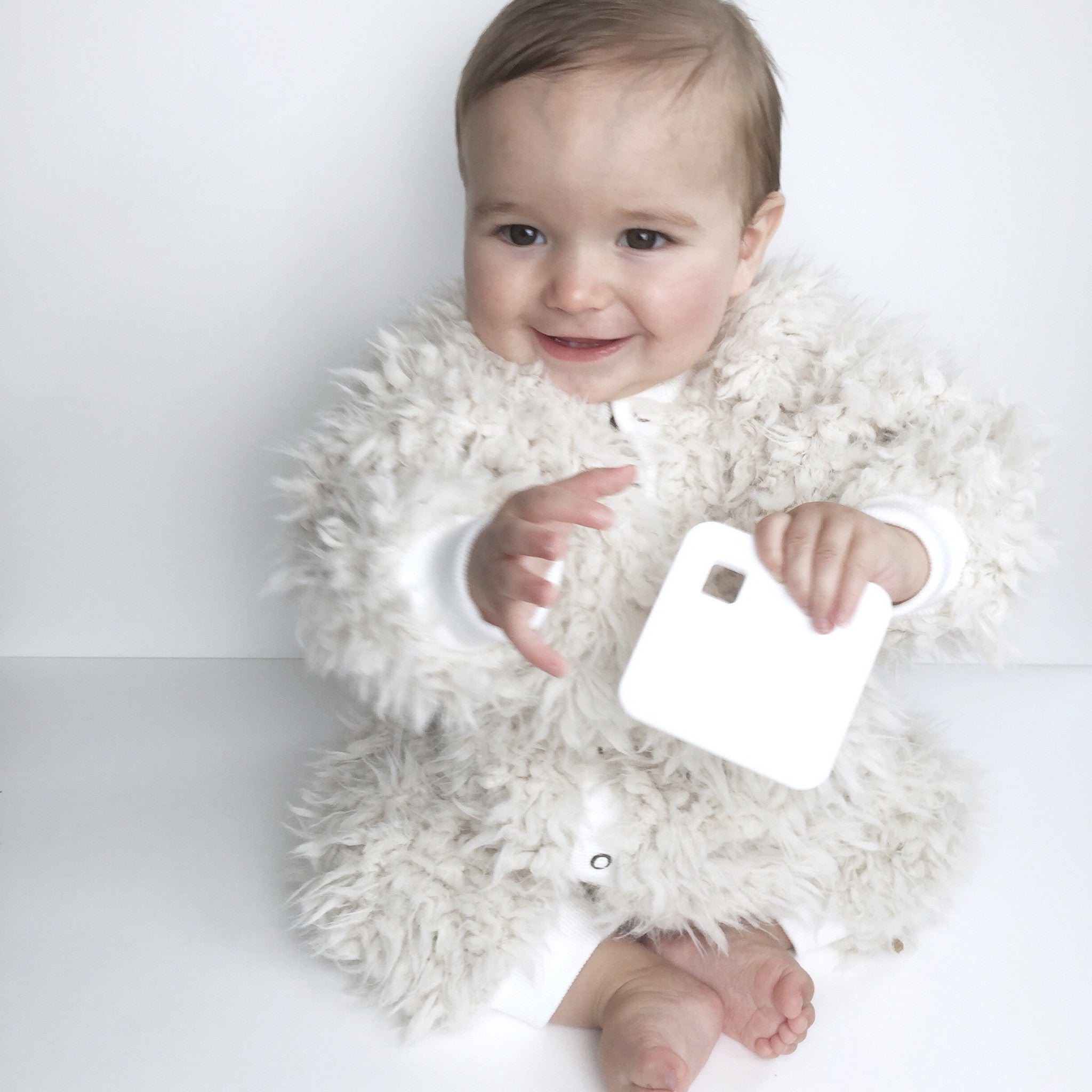 White Square Teether