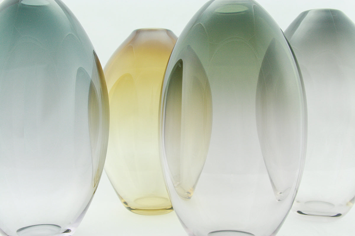 Muted Oval Vessels
