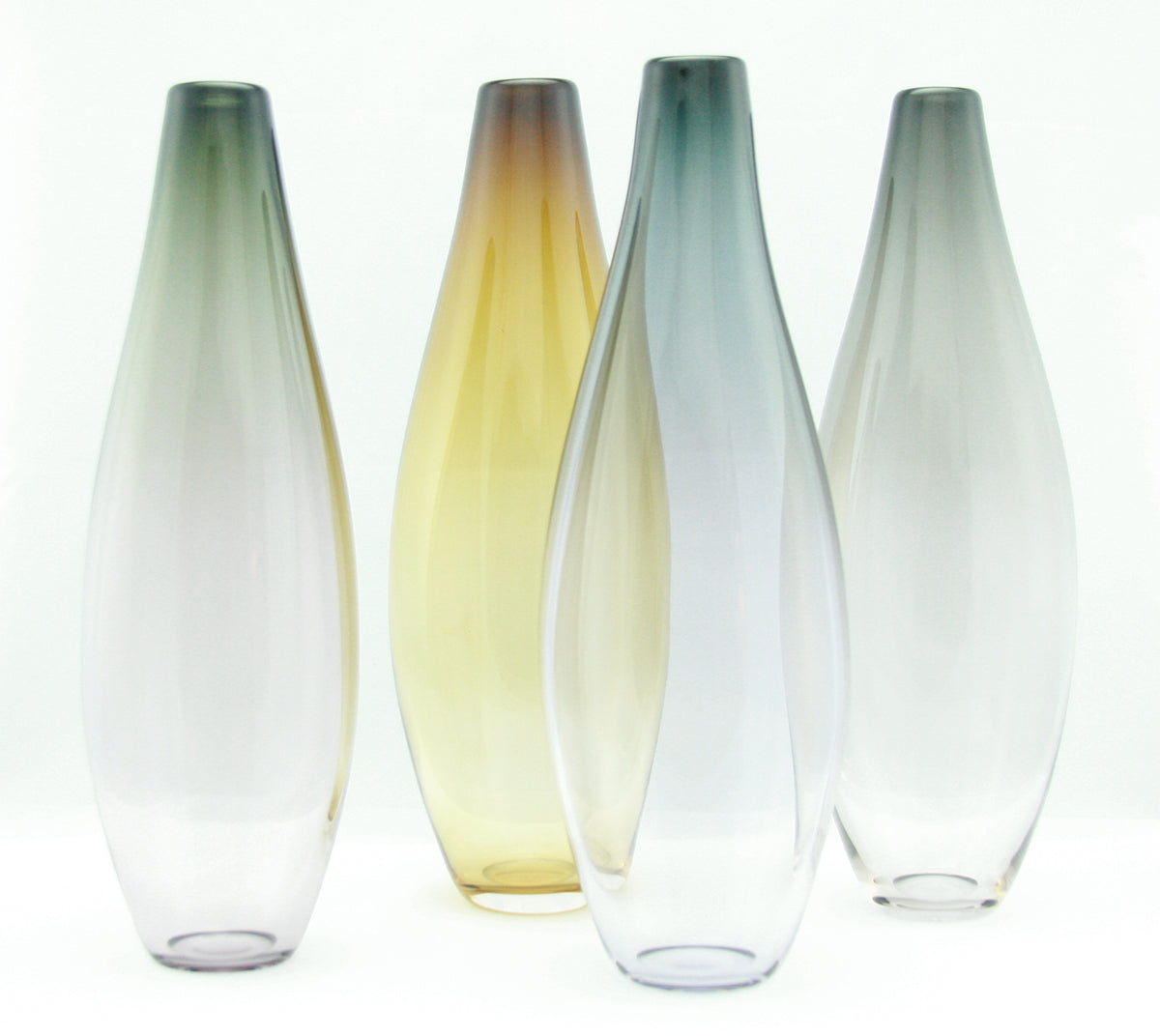 Muted Tall Vases