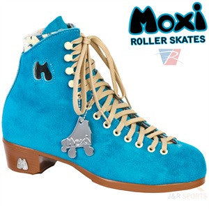 Moxi Pool Blue Roller Skates Boot Only - Momma Trucker Skates