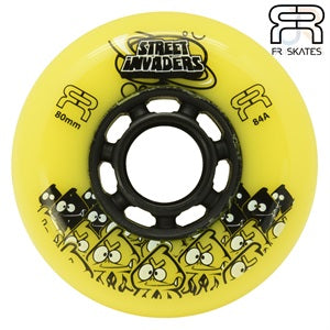 FR Street Invader II Inline Wheels 80mm - Momma Trucker Skates