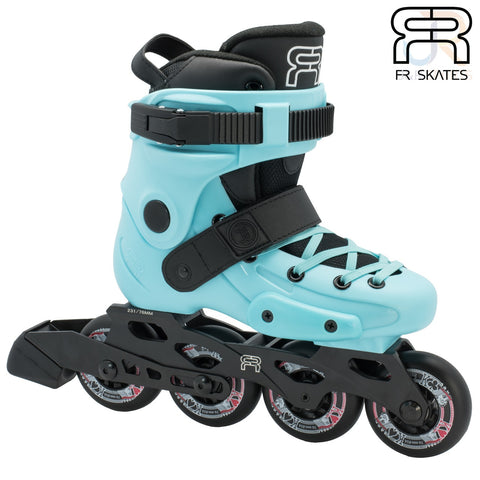 FR Skates Adjustable Childrens Inline Skates Blue 35-37 - Momma Trucker Skates