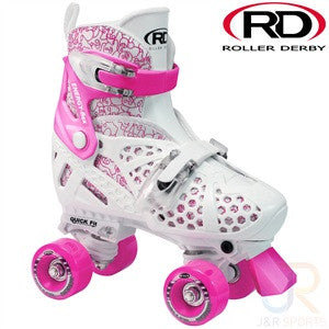 Roller Derby Trac Star Pink Adjustable Roller Skate - Momma Trucker Skates