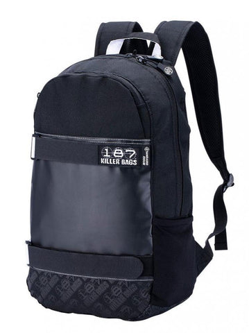 187 Killer Bags Standard Issue Backpack - Black - Momma Trucker Skates
