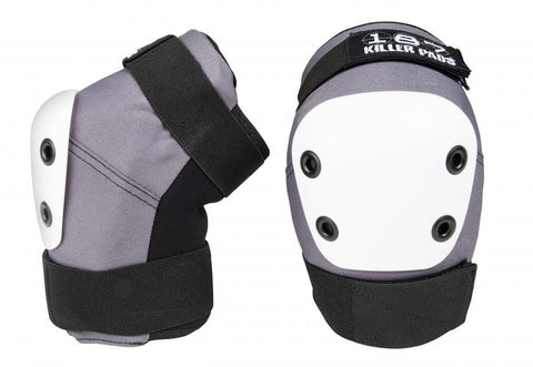 187 Killer Pads - Pro Elbow Grey - Momma Trucker Skates