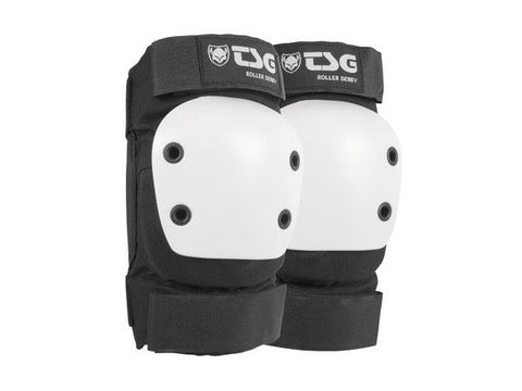 TSG Black Roller Derby 2.0 Elbow Pads - Momma Trucker Skates