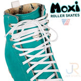 Custom Colour Moxi Jack Boots - Clementine, Honeydew, Pineapple - Momma Trucker Skates
