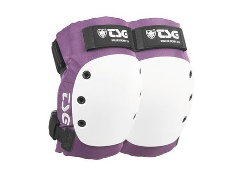 TSG Purple Roller Derby 2.0 Knee Pads - Momma Trucker Skates