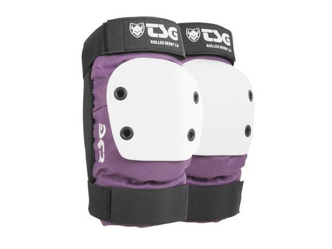 TSG Purple Roller Derby 2.0 Elbow Pads - Momma Trucker Skates
