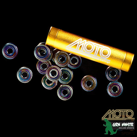 Moto Premium Swiss Bearings 16pk - Momma Trucker Skates