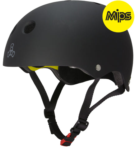 Triple 8 Brainsaver II w/Mips Rubber Black