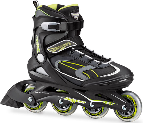 Bladerunner 2018 Advantage Pro XT Black & Green - Momma Trucker Skates