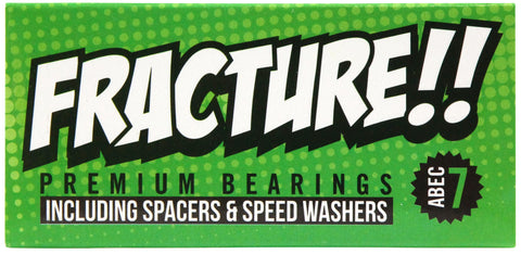 Fracture Premium Abec 7 Green Bearings