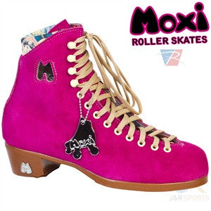 Moxi Fushcia Boot Only - Momma Trucker Skates
