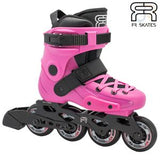 FR Skates Adjustable Childrens Inline Skates - Pink 32-34 - Momma Trucker Skates