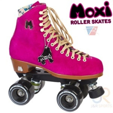 Moxi Lolly Fuchsia Skates - Momma Trucker Skates
