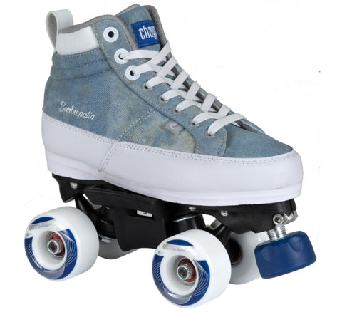 Chaya Kismet Barbie Denim Blue Park Skates