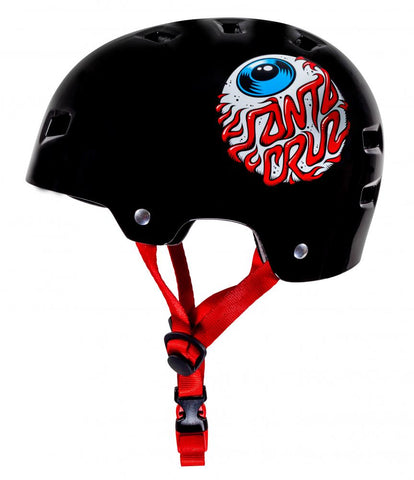 Bullet x Santa Cruz Helmet Eyeball Youth 49-54cm - Momma Trucker Skates