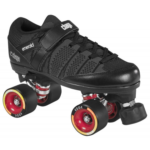 Chaya Emerald Hard Black - Momma Trucker Skates