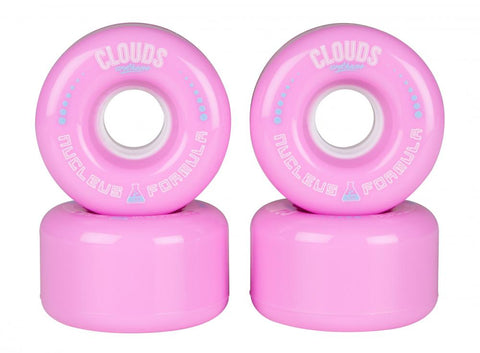Clouds Urethane Nucleus Outdoor 78a Wheels - Pink, Black or White - Momma Trucker Skates