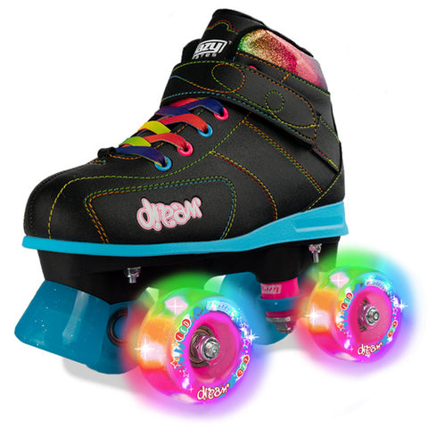 Crazy Skates Dream Skates - Black - Momma Trucker Skates