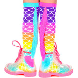 Madmia Crazy Socks  - Mermaid - Momma Trucker Skates