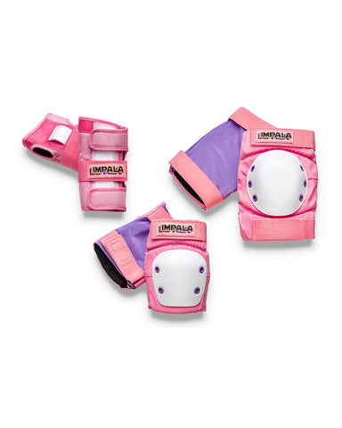 Impala Triple Pad Set - Pink - Momma Trucker Skates