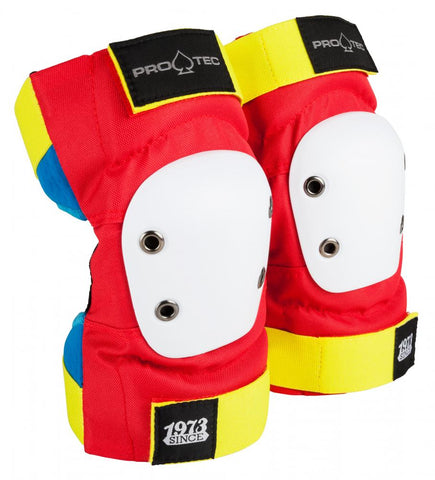 Protec Street Elbow pads Red - Momma Trucker Skates