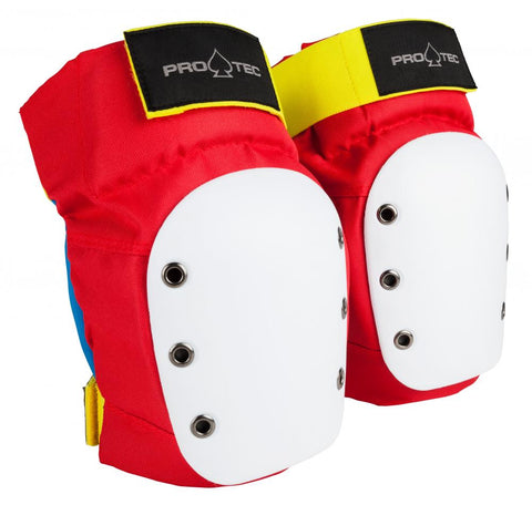 Pro-Tec Street Knee Pads Red - Momma Trucker Skates