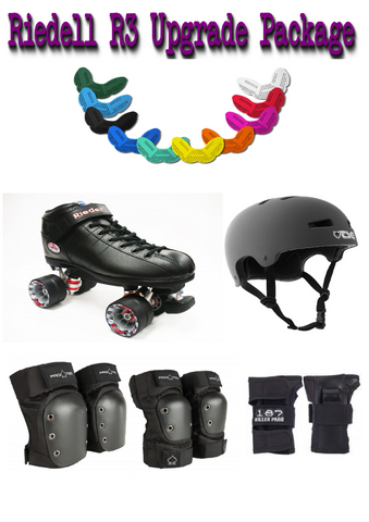 Riedell R3 Upgrade Skate Package - Momma Trucker Skates