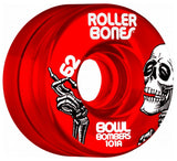 Rollerbones Quad Wheels Bowl Bombers 101a - All colours! - Momma Trucker Skates