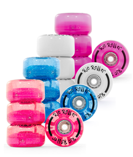 Rio Roller Light up Wheels  - All Colours!