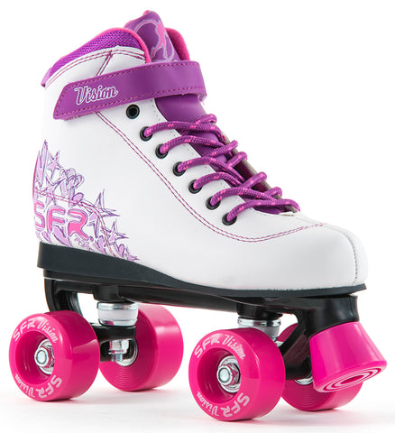 SFR Vision II Quad Skates White & Purple