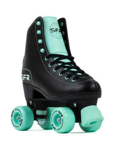 SFR Figure Roller Skates -Black/Mint - Momma Trucker Skates