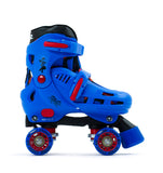 SFR Storm IV Adjustable Quad Skates - Blue - Momma Trucker Skates