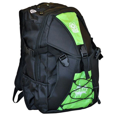 Atom Skates Backpack - Green - Momma Trucker Skates