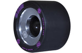 Atom Boom Alloy Core 59MM Quad Derby Wheels Black 4PK Firm - Momma Trucker Skates